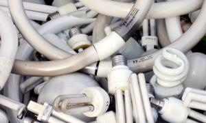 Необходимость утилизации люминесцентных ламп